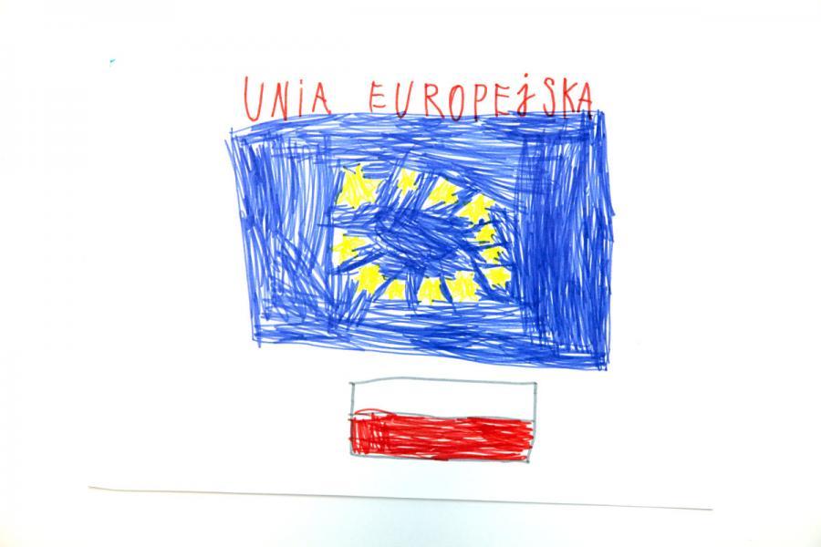 Autor rysunku: Mikołaj Majewski, lat 6