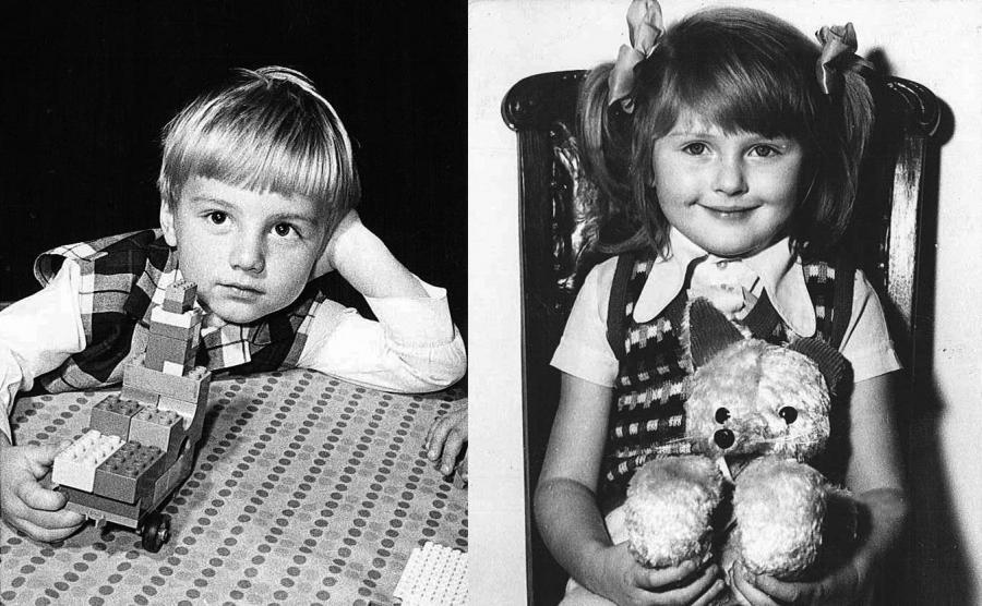 Andrzej Duda i Agata Kornhauser w wieku przedszkolnym