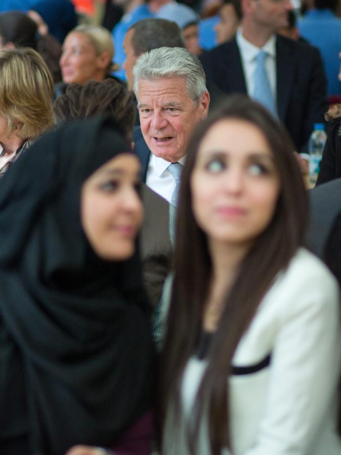 Gauck obchodził razem z muzułmanami koniec dziennego postu