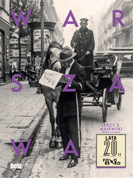 """Warszawa lata 20."" - okładka"