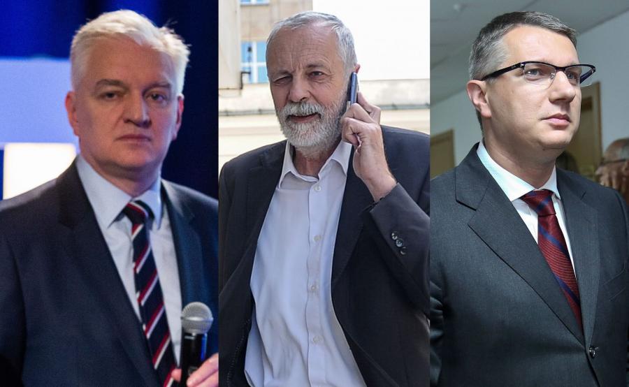 Jarosław Gowin, Rafał Grupiński i Przemysław Wipler