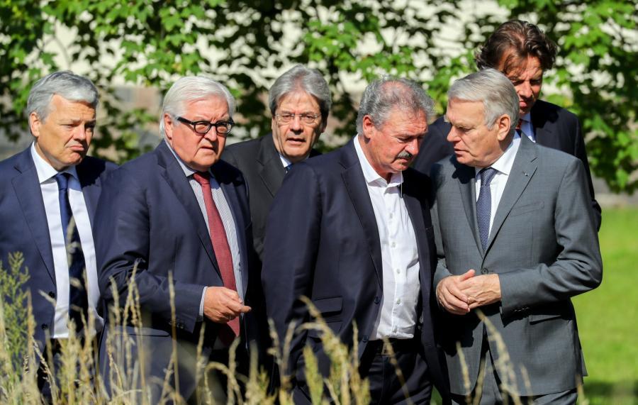 Spotkanie ministrów spraw zagranicznych sześciu krajów UE
