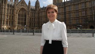 Nicola Sturgeon, szefowa szkockiego rządu