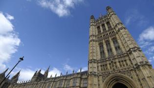 Budynek brytyjskiego Parlamentu