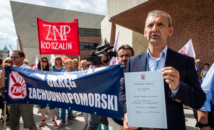 Prezes ZNP, Sławomir Broniarz