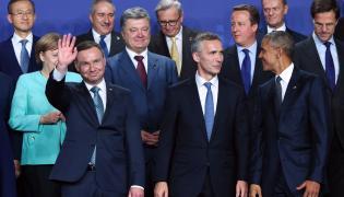 Szczyt Sojuszu Północnoatlantyckiego na warszawskim Stadionie PGE Narodowym