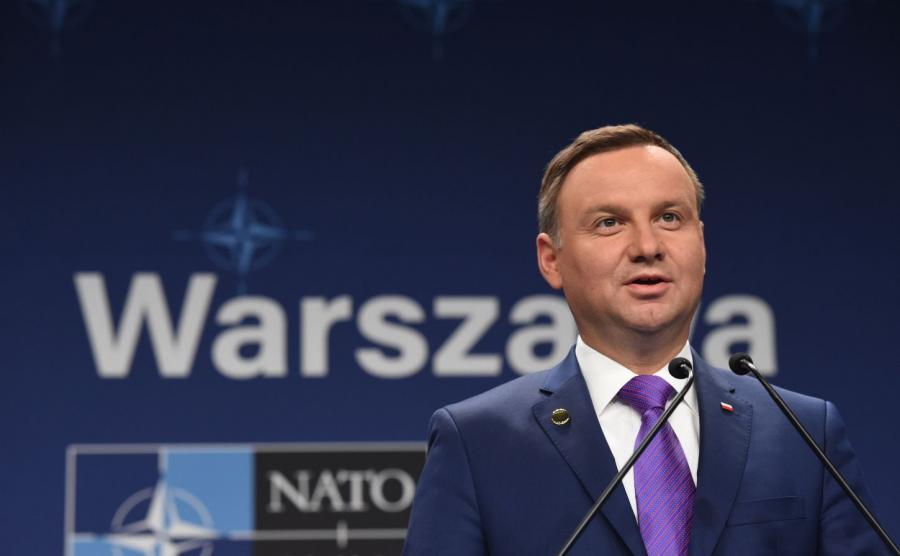 Prezydent Andrzej Duda na szczycie NATO