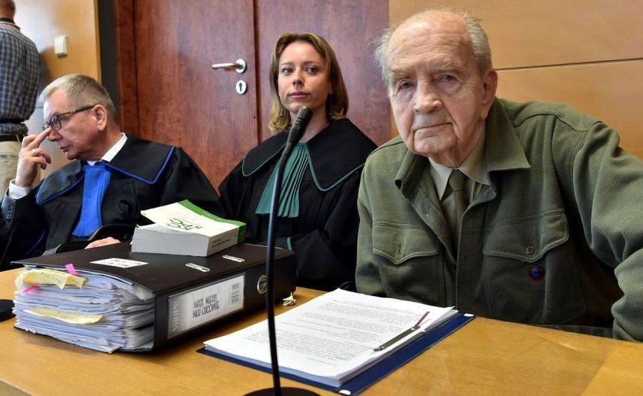 92-letni żołnierz Armii Krajowej Zbigniew Radłowski