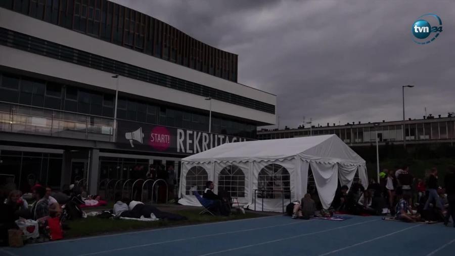 Poznański AWF testuje wytrzymałość kandydatów na studia