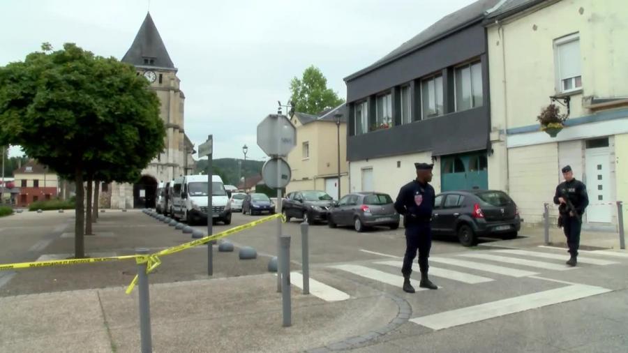 ISIS zaatakowało kościół w Normandii