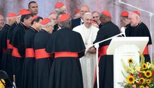 Papież wśród kardynałów