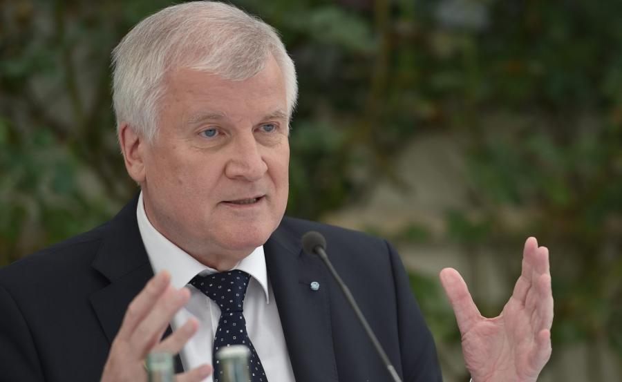 Premier Bawarii Horst Seehofer