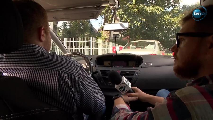 Atak na kierowcę Ubera w Warszawie