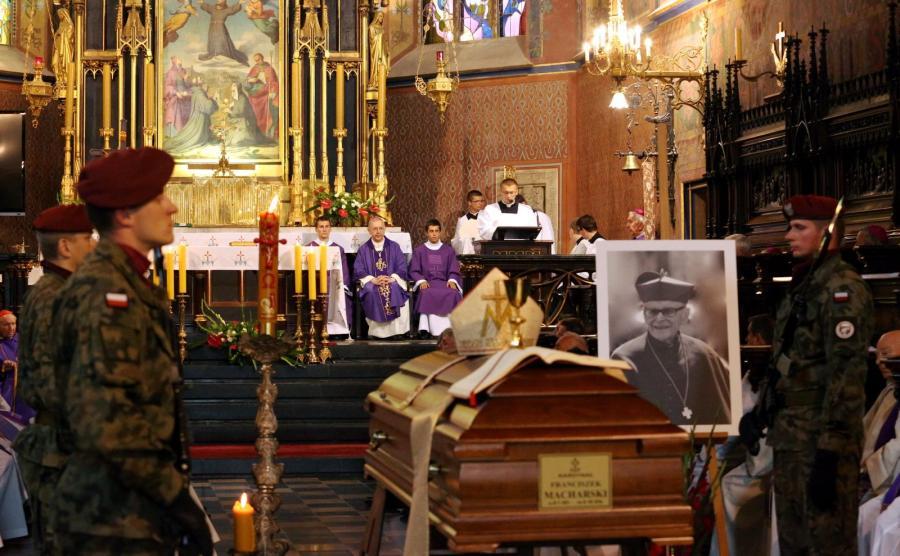 Msza święta pod przewodnictwem przewodniczącego KEP abp. Stanisława Gądeckiego w bazylice św. Franciszka z Asyżu w Krakowie