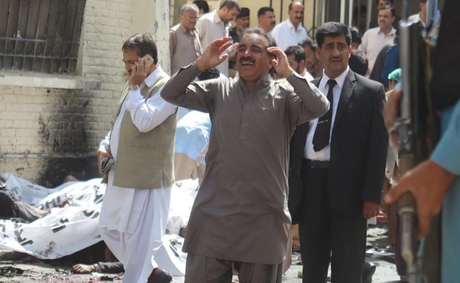 Zamach bombowy w Pakistanie