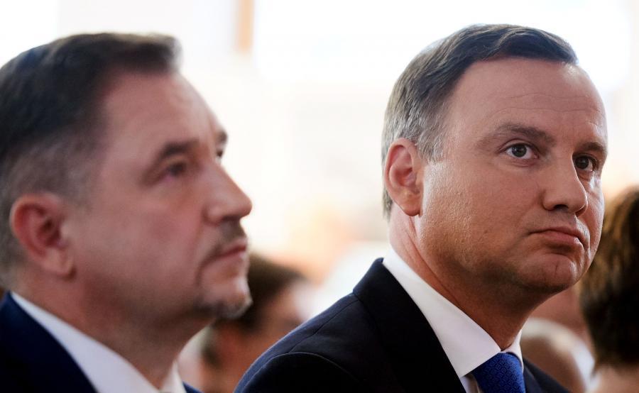 Piotr Duda i Andrzej Duda
