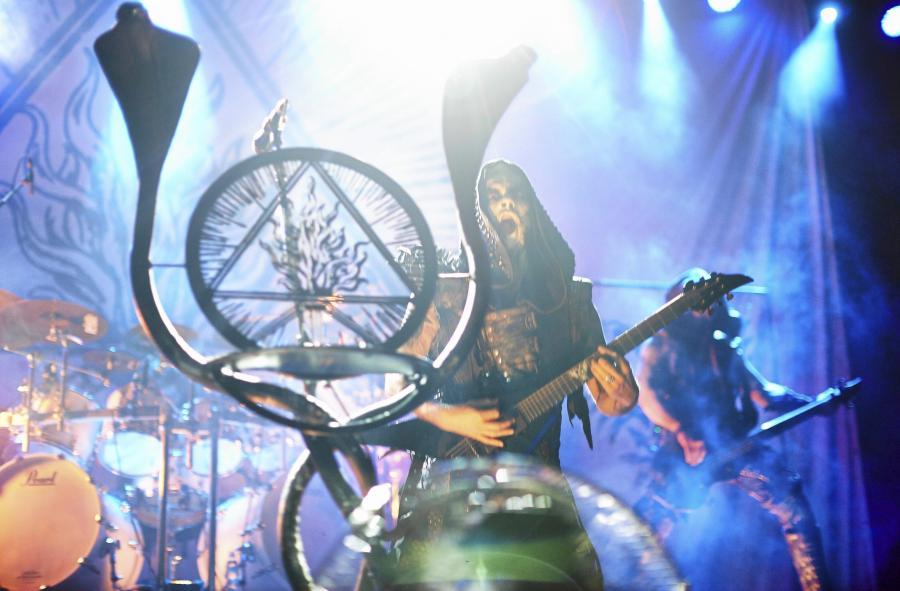 Behemoth na żywo / fot. Marcin Stępień