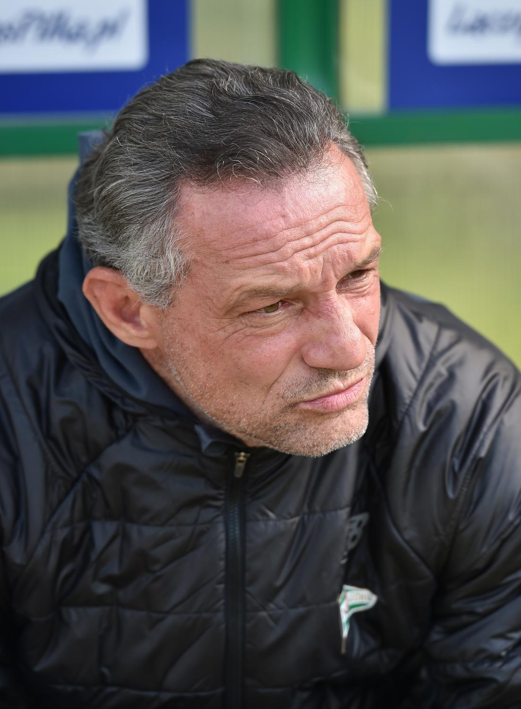 Trener Lechii Gdańsk Piotr Nowak