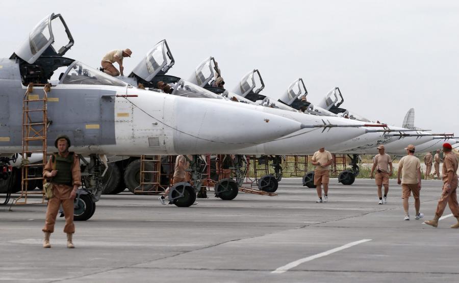 Rosyjskie Su-24 w Syrii