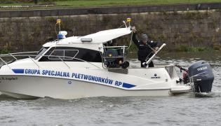 Grupa Specjalna Płetwonurków RP rozpoczęła w Krakowie poszukiwania w Wiśle szczątków zamordowanej 18 lat temu Katarzyny Z.