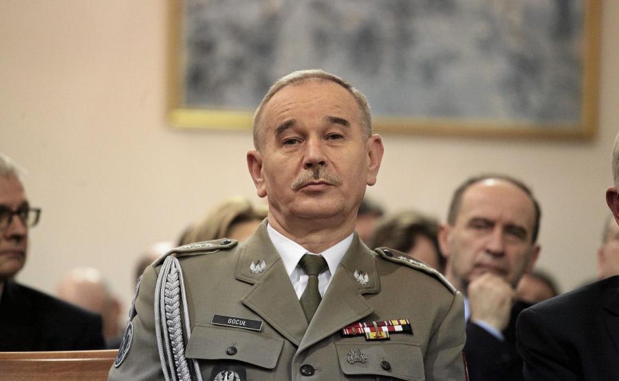 szef SG gen. Mieczysław Gocuł