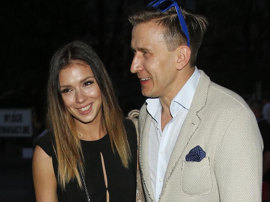 Klaudia Halejcio i Tomasz Barański