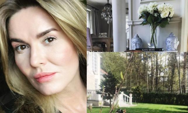 Jak mieszka Hanna Lis? Dziennikarka pochwaliła się piękną willą z ogrodem