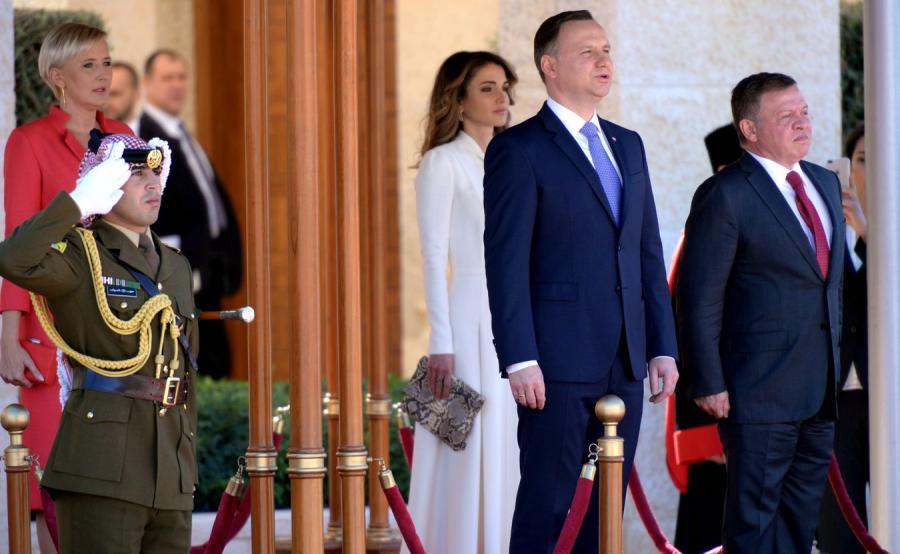 Para prezydencka w Jordanii