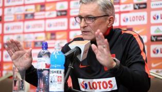 Selekcjoner piłkarskiej reprezentacji Polski Adam Nawałka