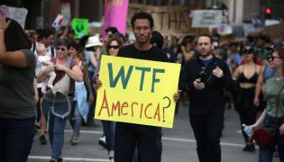 Protesty po wyborach prezydenckich w USA