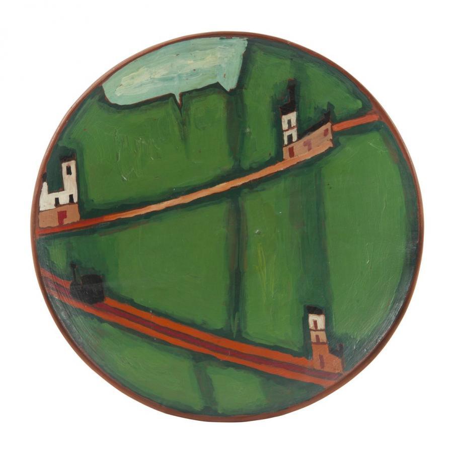Malarstwo na ceramice: Jerzy Nowosielski