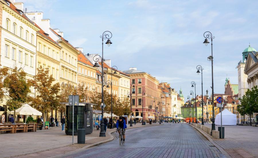 Ul. Krakowskie Przemieście w Warszawie