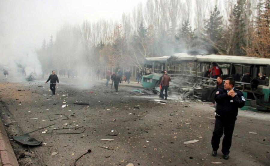 Zamach w Turcji