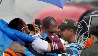 Helio Zampier Neto, jeden z 6 ocalałych po katastrofie samolotu