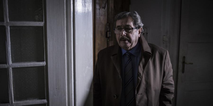 """Janusz Gajos w filmie """"Konwój"""". Premiera 13 stycznia 2017 roku."""