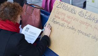 Protest w Gdańsku