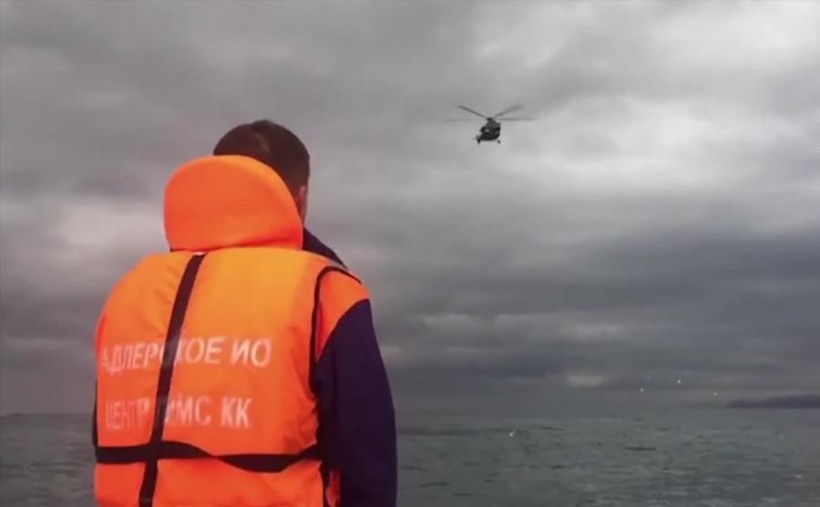 Akcja poszukiwawcza po katastrofie samolotu z Chórem Aleksandrowa na pokładzie