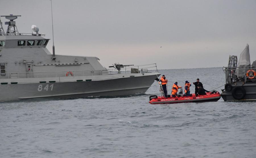 Poszukiwania szczątków wraku Tu-154