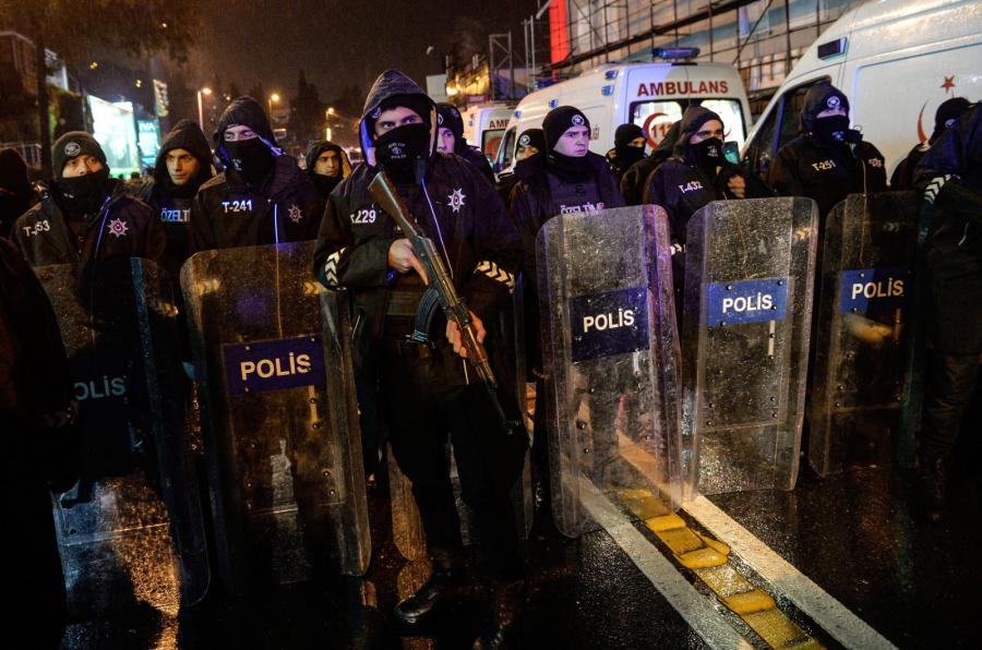 atak na klub nocny w Stambule