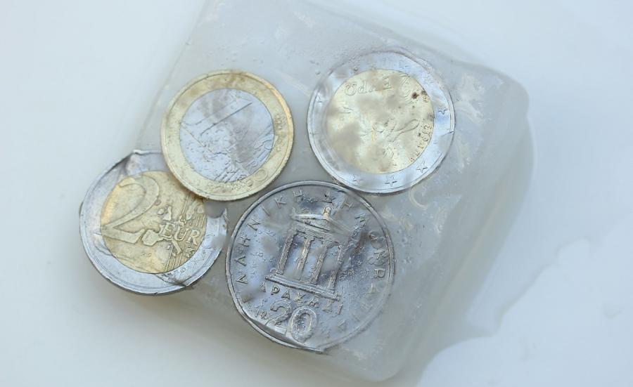 Greckie euro i grecka drachma