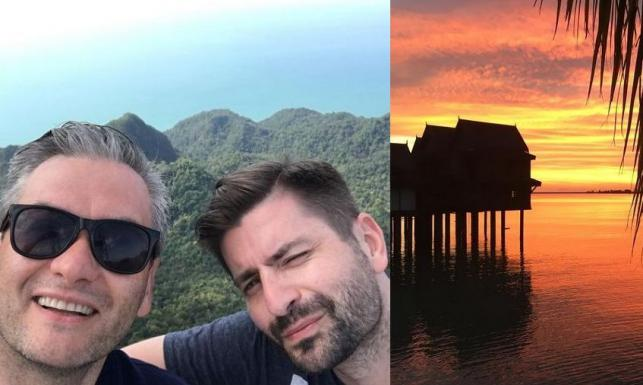 Robert Biedroń z ukochanym na wakacjach w Malezji. Internauci zachwyceni: Jesteście piękni