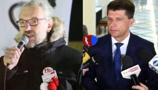 Mateusz Kijowski i Ryszard Petru