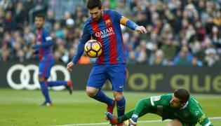 Lionel Messi i Javi Varas