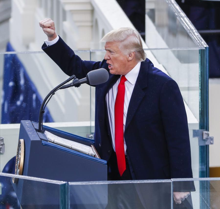 DONALD TRUMP NOWYM PREZYDENTEM USA. Zaprzysiężenie 45. prezydenta Stanów Zjednoczonych