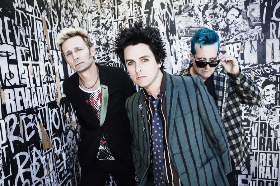 Green Day fot. Frank Maddock