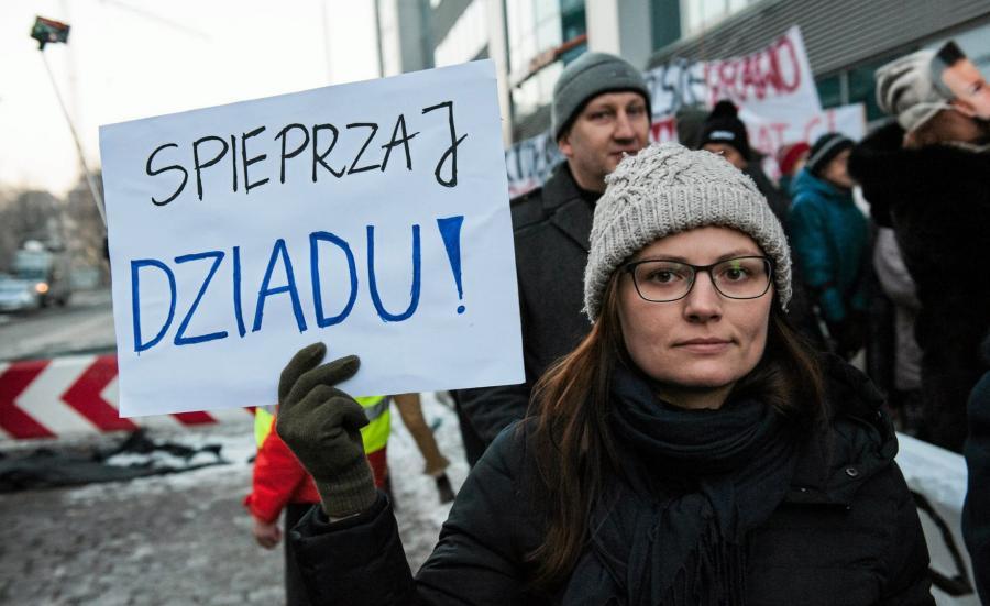 Protest KOD we Wrocławiu4