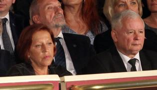Barbara Skrzypek i Jarosław Kaczyński