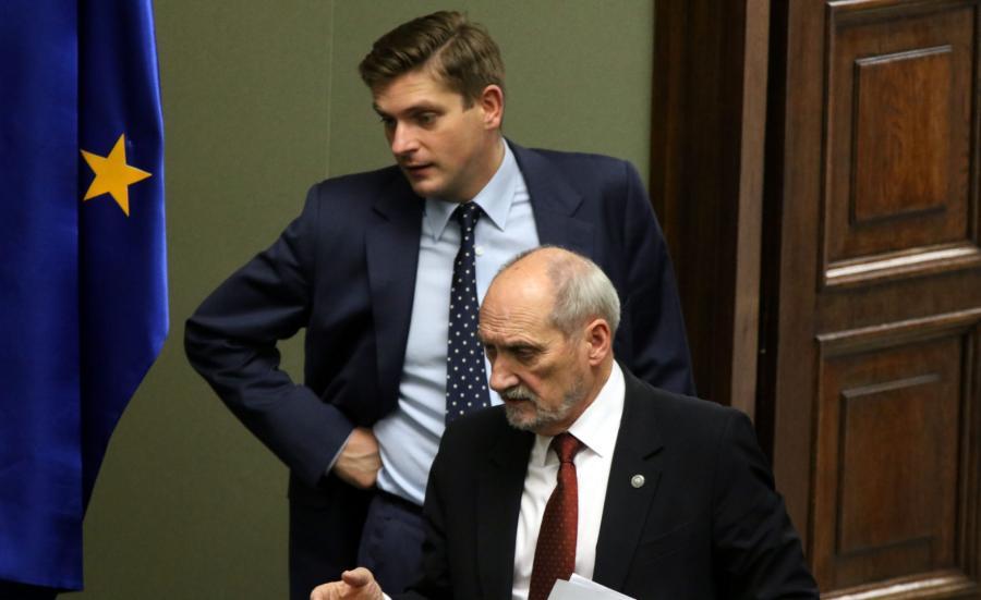 Kownacki i Macierewicz