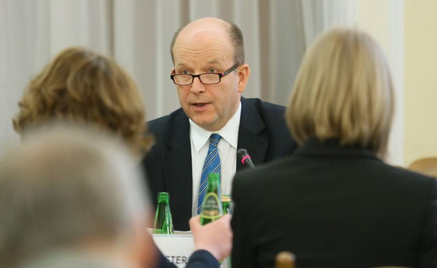 Minister zdrowia Konstanty Radziwiłł na posiedzeniu sejmowej komisji zdrowia