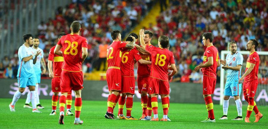 Piłkarze reprezentacji Czarnogóry